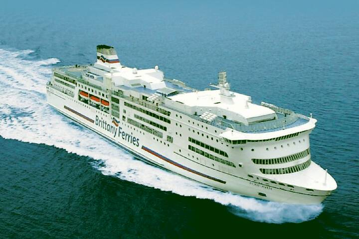 International ferry in English Channel
