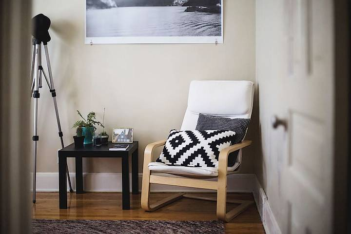 Interior items in a small home