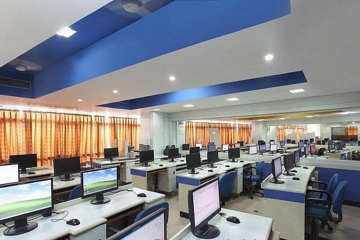 Open office with IT equipment