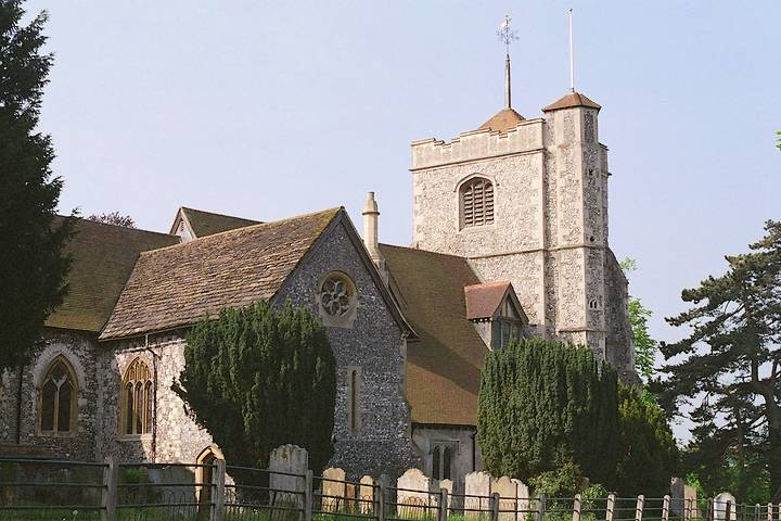 Early church in Leatherhead